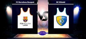 Basketbal Euroleague Barcelona - Chimki Moskva