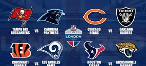 NFL Londýn 2019 Chicago Bears - Oakland Raiders