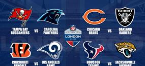 NFL Londýn 2019 Carolina Panthers - Tampa Bay Buccaneers