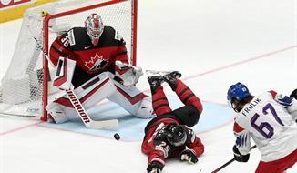 MS v hokeji 2020 - Česko - Kanada bus