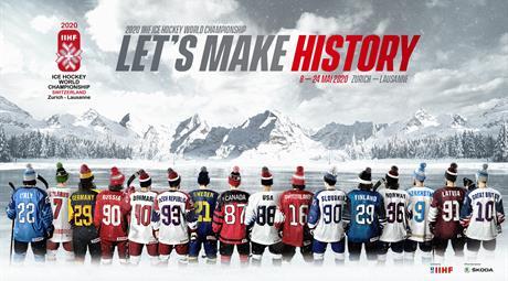 Vstupenky na MS v hokeji 2020 Švédsko - Bělorusko