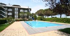 Lignano - Apartmány Casa Marina, bazén, 10% sleva 1.Moment