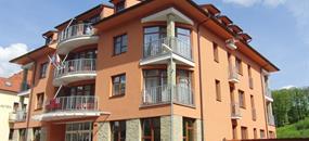 Luhačovice - Vila Antoaneta, Víkend, 2 noci a 2 procedury