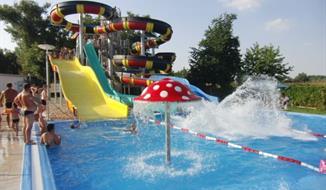 Patince - Chatky Family Resort, pro rodiny s dětmi, koupaliště zdarma