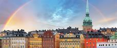 Stockholm + královský palác Drottningholm s českým průvodcem
