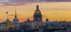 Petrohrad + Petrodvorec + Jantarová komnata s průvodcem