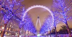 Předvánoční Londýn s návštěvou Winter Wonderlandu s průvodcem