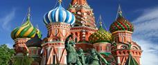 Moskva letecky s průvodcem