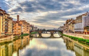 Řím + vznešená Florencie