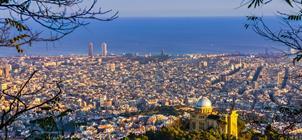 Slunná Barcelona + klášter Montserrat **+