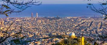 Slunná Barcelona + klášter Montserrat