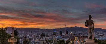 Slunná Barcelona + koupání