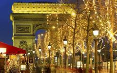 Předvánoční Paříž