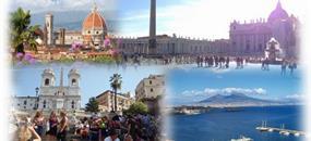 Kouzelná Itálie: Řím - Neapol - Pompeje – Vesuv - Florencie