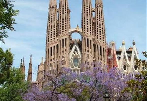 Barcelona letecky **+