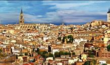 Madrid a Toledo letecky