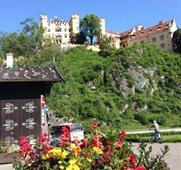 Zámky šíleného krále, Zugspitze a hory v plamenech