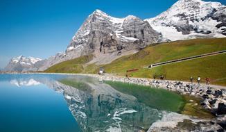 Jungfrau, Mönch a Eiger se slevovou kartou - Švýcarský trojlístek