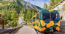 Mločím vláčkem až na Schneeberg - turistika v Alpách