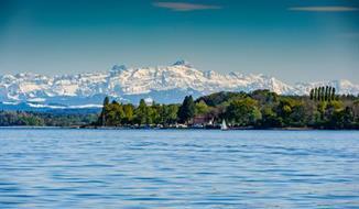 Bodamské jezero - ostrov Mainau, Kostnice a kůlové stavby UNESCO