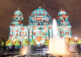 Festival světel v Berlíně