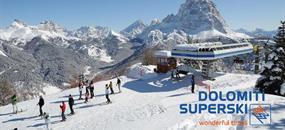 Hotel Savoia, Civetta - 5denní lyžařský balíček se skipasem a dopravou v ceně