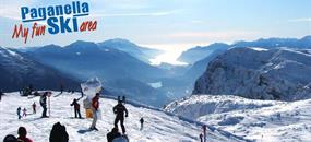 Hotely Paganella - různé hotely - 5denní lyžařský balíček se skipasem a dopravou v ceně
