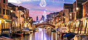 Benátky v době adventu