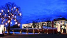 Advent na zámku Schloss Hof a čokoládovna Hauswirth