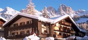 Hotel Arnica - 5denní lyžařský balíček se skipasem a dopravou v ceně
