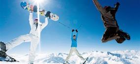 Jednodenní lyžování ledovec Hintertux (Pražská linka)