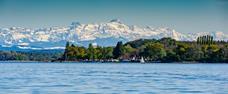 Krásy v okolí Bodamského jezera a bohatství pod alpami