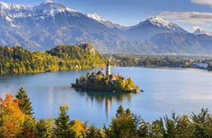 Přírodní krásy Slovinska