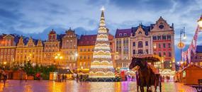 Wroclaw - vánoční atmosféra a vyhlášené trhy
