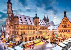 Advent v bavorském Rothenburgu