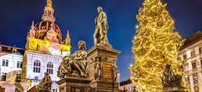 Adventní trhy v Grazu