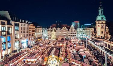 Adventní trhy v Lipsku