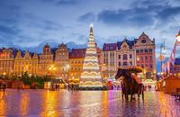 Adventní Wroclaw a vyhlášené trhy