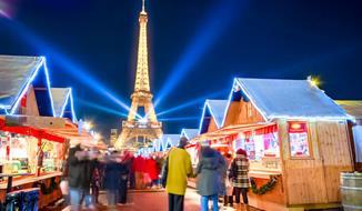 Adventní Paříž s kouzelnou atmosférou Vánoc