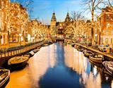 Adventní Amsterdam a festival světel 2019