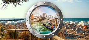 Zkrácená dovolená v Lido di Jesolo (hotel Tropical) a Benátky