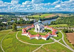 Skanzen na Veselém Kopci, UNESCO na Zelené hoře a přehrada Seč z Brna