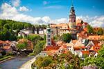 Český Krumlov, zámek Hluboká a Zlatá Koruna