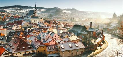 Advent na jihu Čech