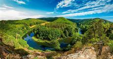 Národní park Thayatal a vinařské město Retz