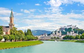 Okolí Berchtesgadenu a Salzburg 2021
