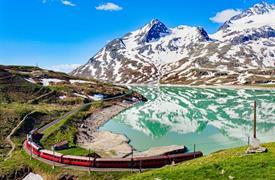 Švýcarsko s panoramatickým vlakem UNESCO a Lichtenštejnsko 2021