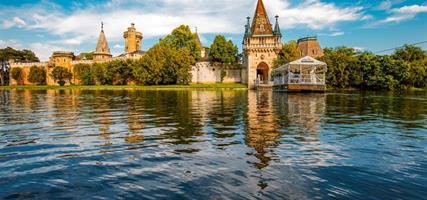 Kouzelný zámek Franzensburg, čokoládovna a město Baden 2021