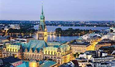 Hansovní Hamburk s možností plavby lodí