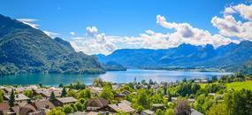 Jezero Wolfgangsee a historická železnice 2021